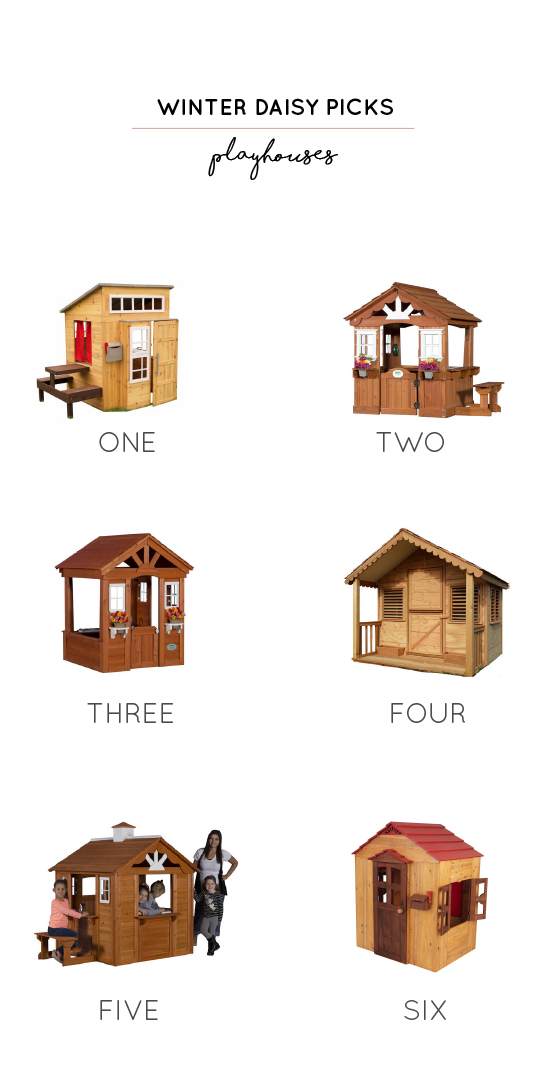 wooden playhouses for kids