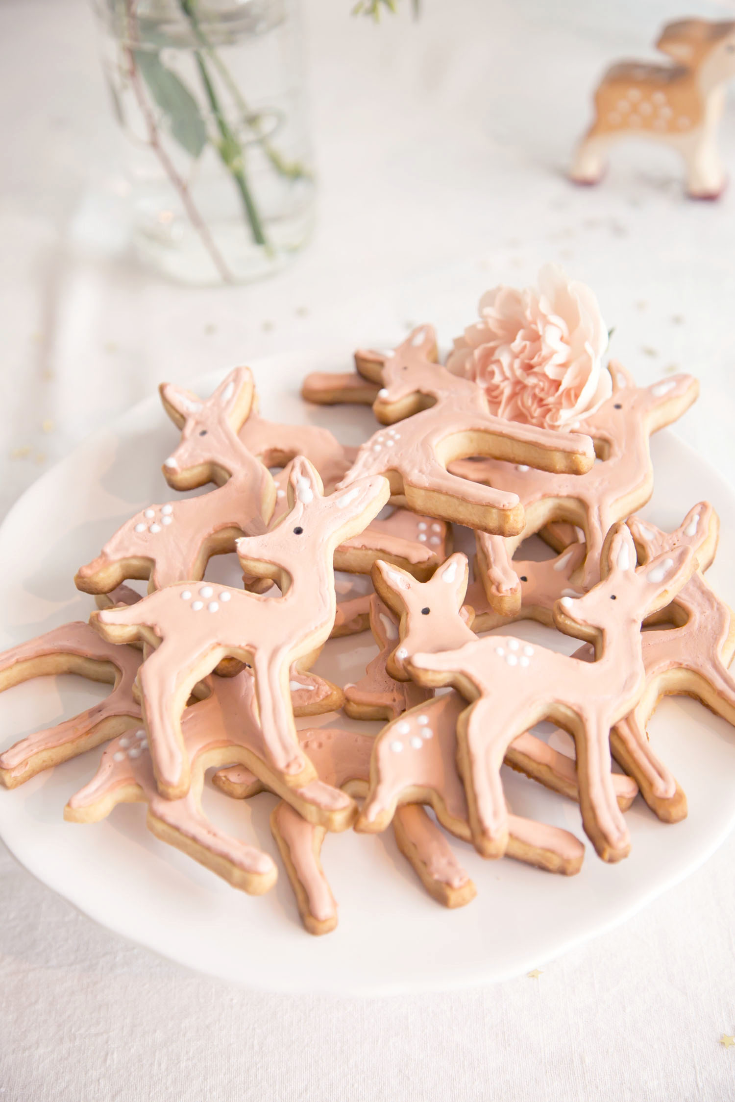 DIY deer cookies