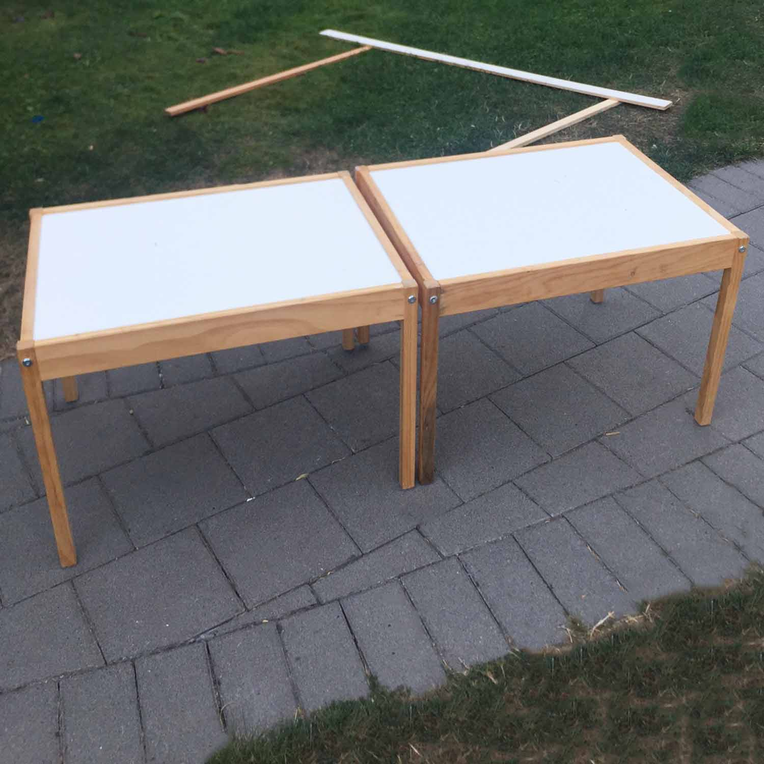 before ikea tables