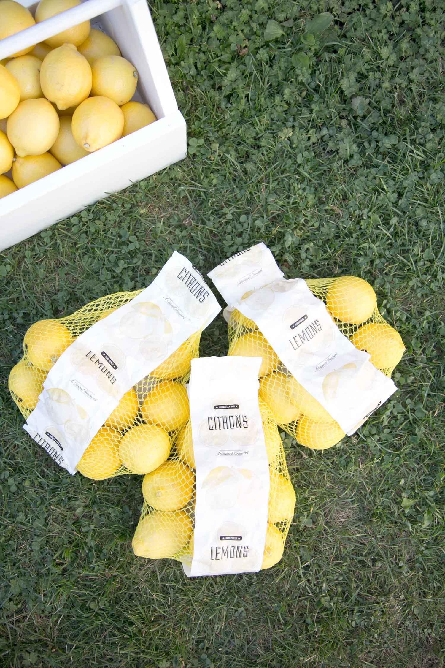 bags of lemons