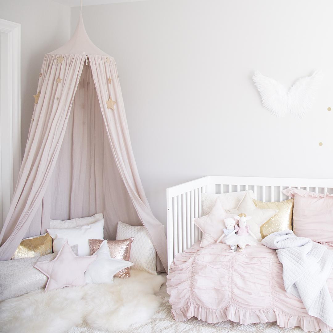 Girls room by Interior Designer Melissa Barling