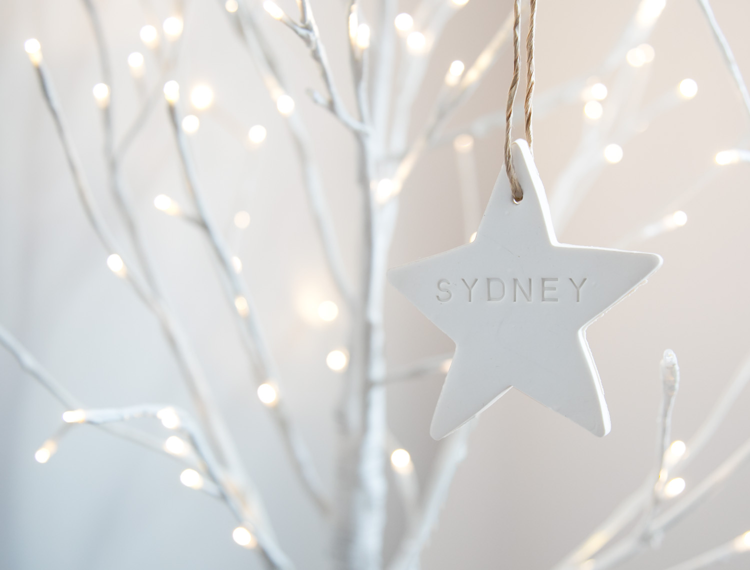 sydney star ornament
