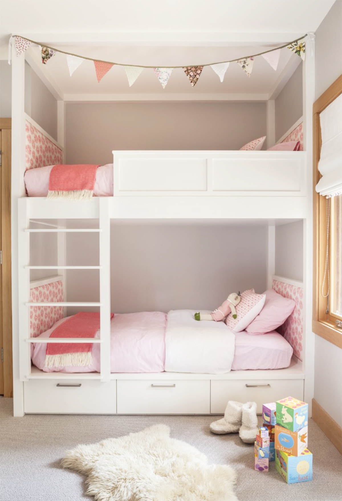 Bunk Bed Designs For Kids Room: INSPIRATION: SHARED KIDS' ROOMS WITH BUNK BEDS