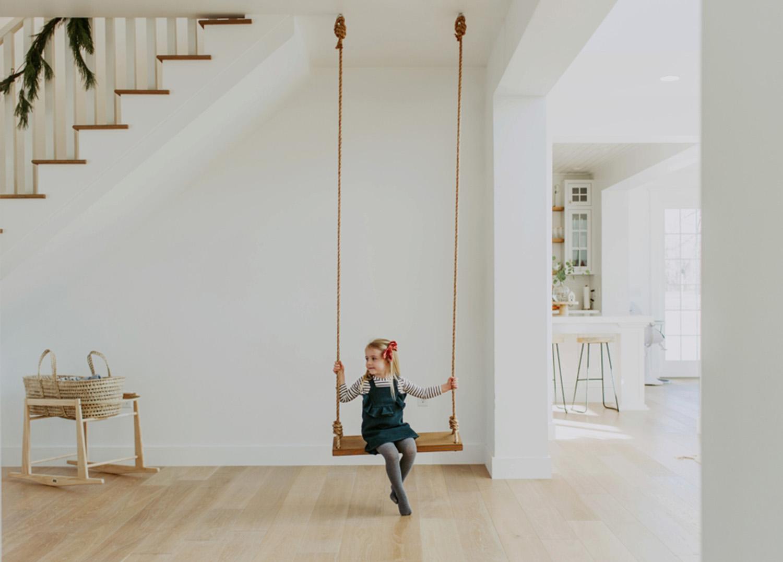 indoor swing for kids