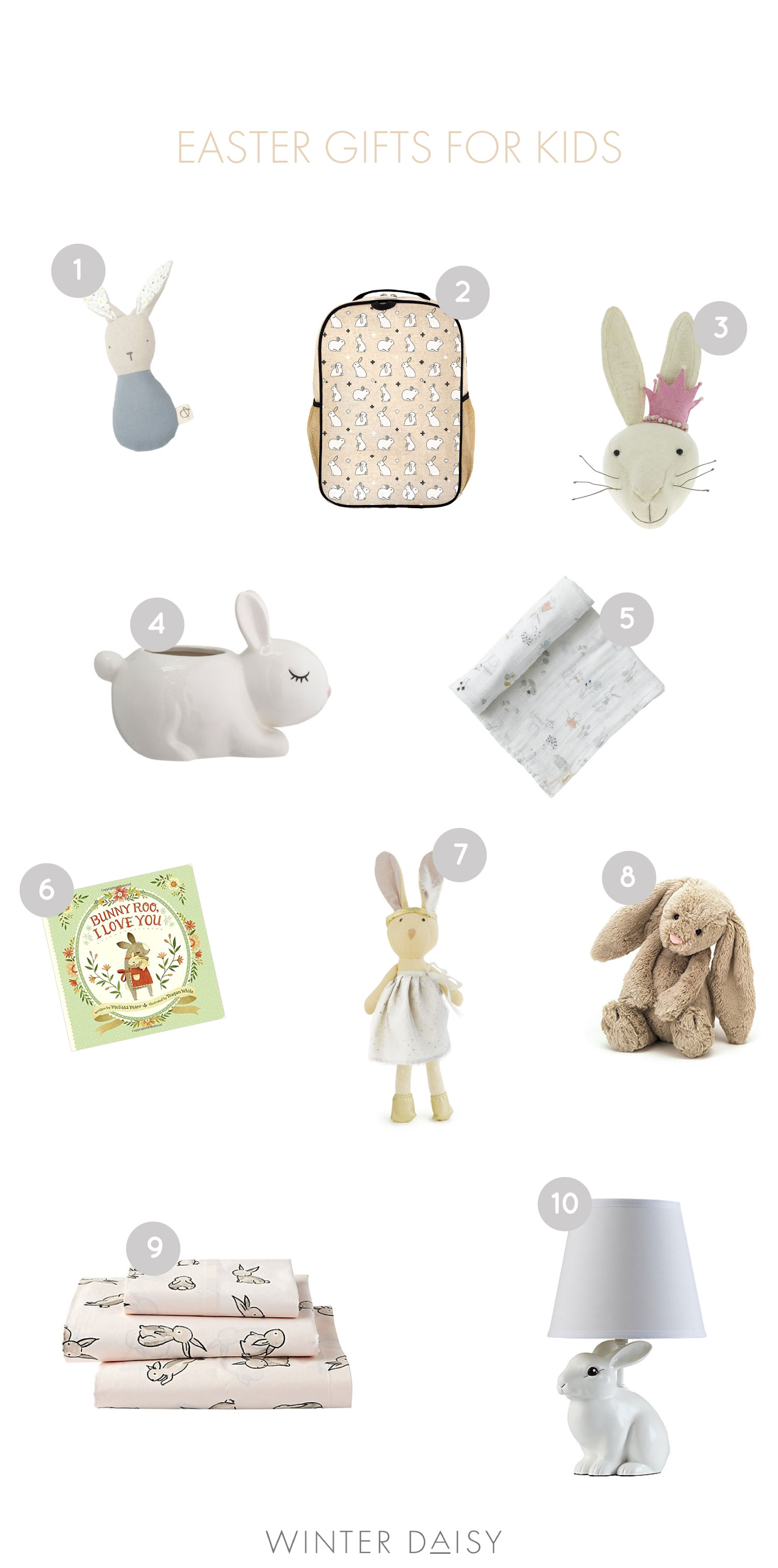 Easter gifts for babies and kids