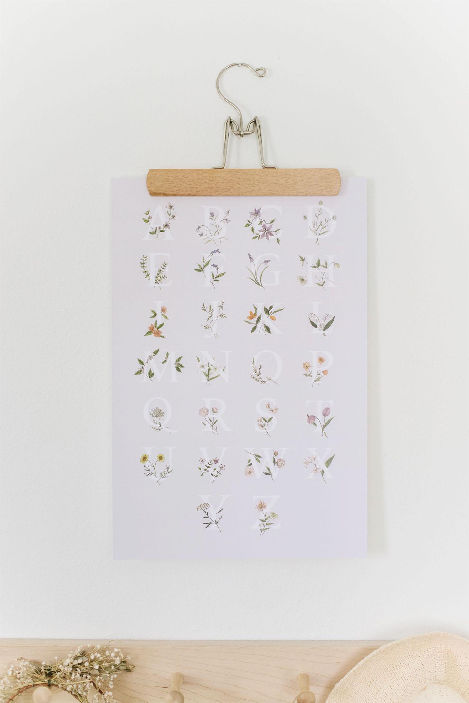alphabet by Bloom Handmade