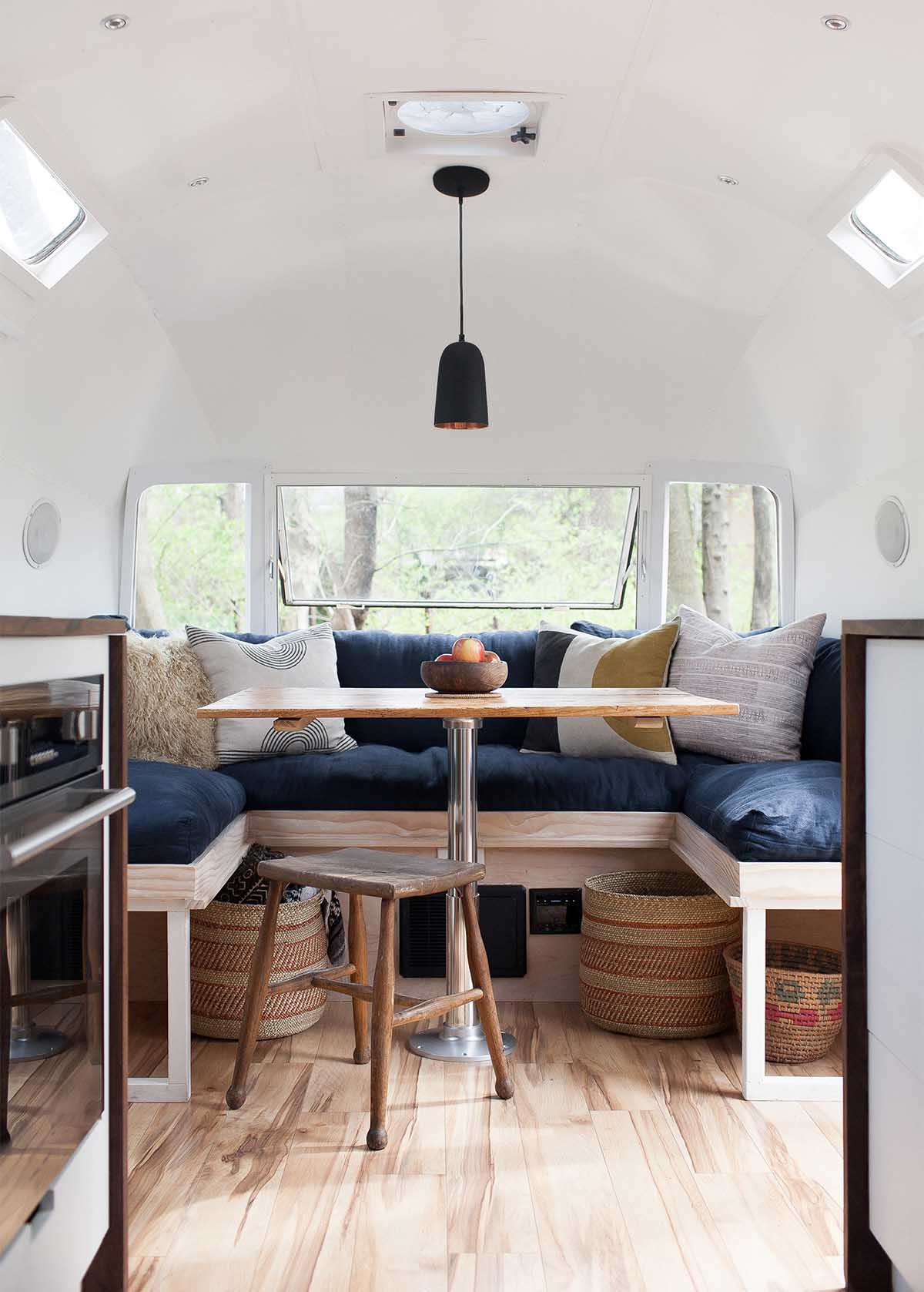 the modern caravan airstream renovation