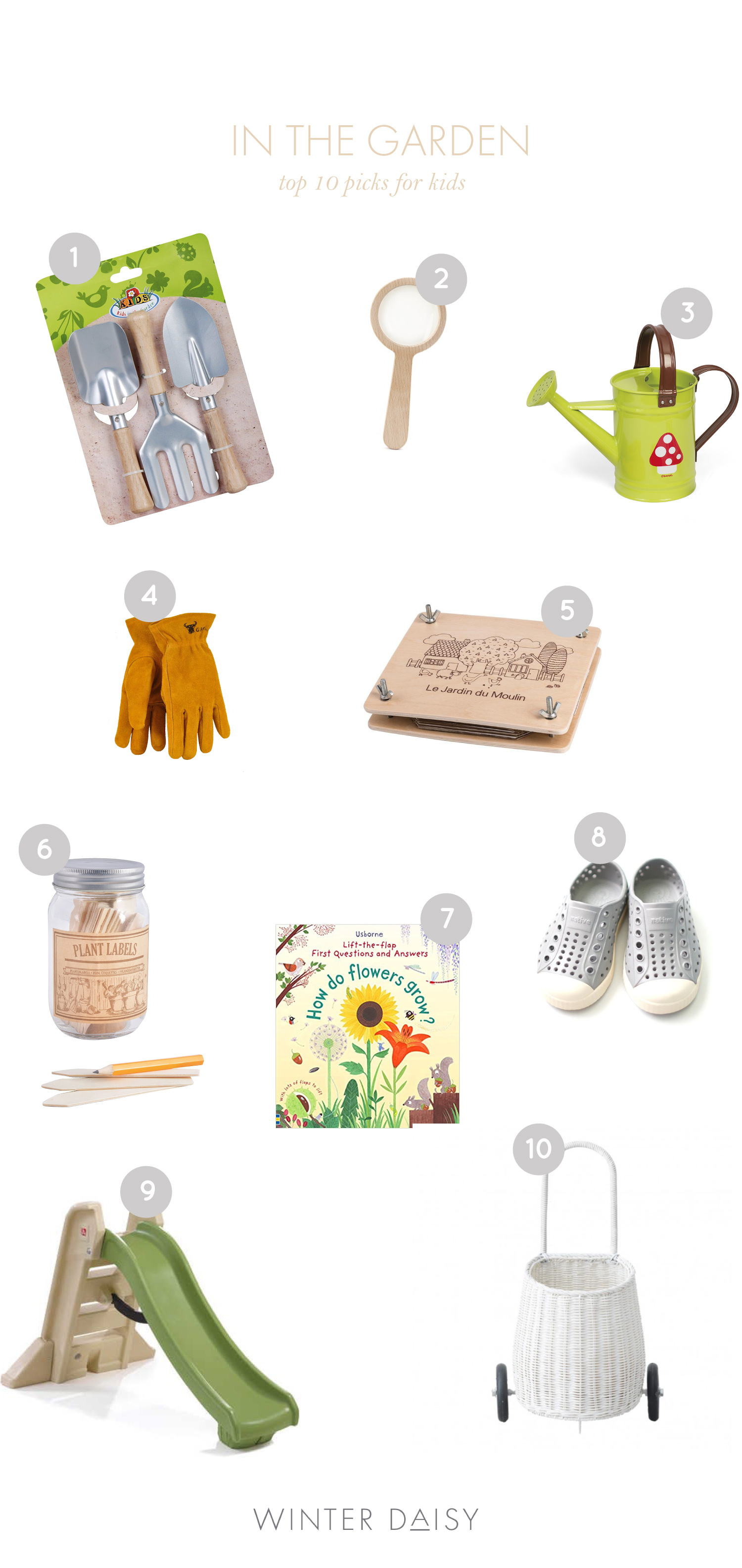 top 10 picks for garden tools for kids