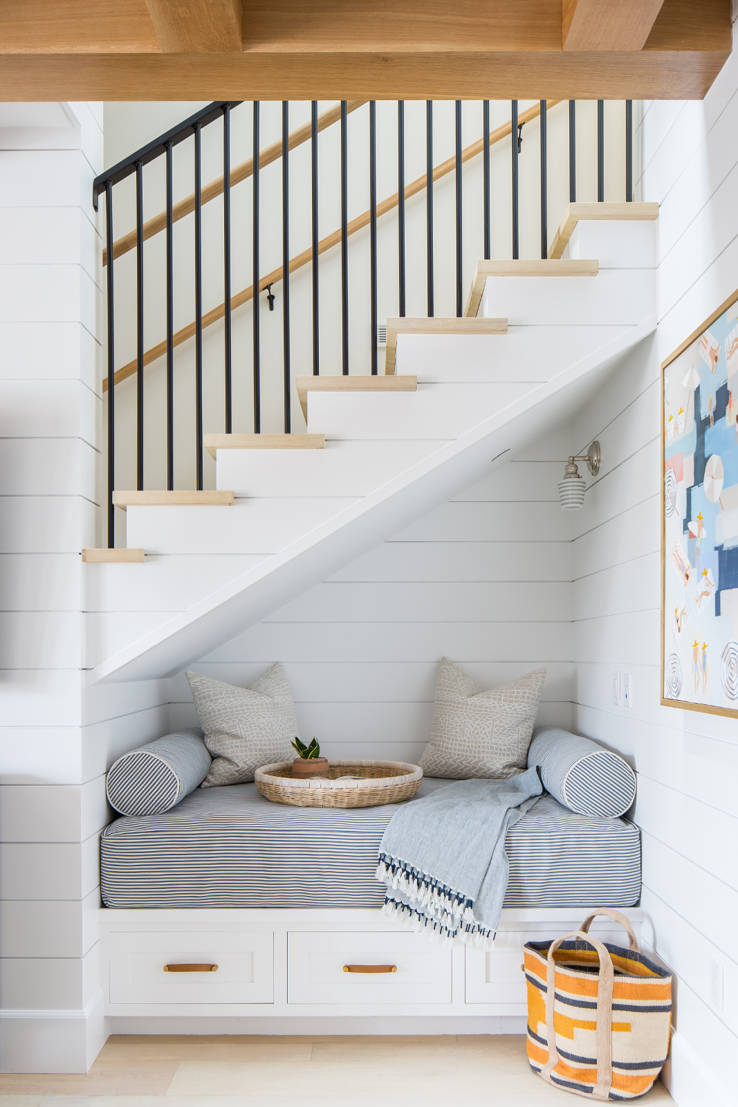 under stair nook