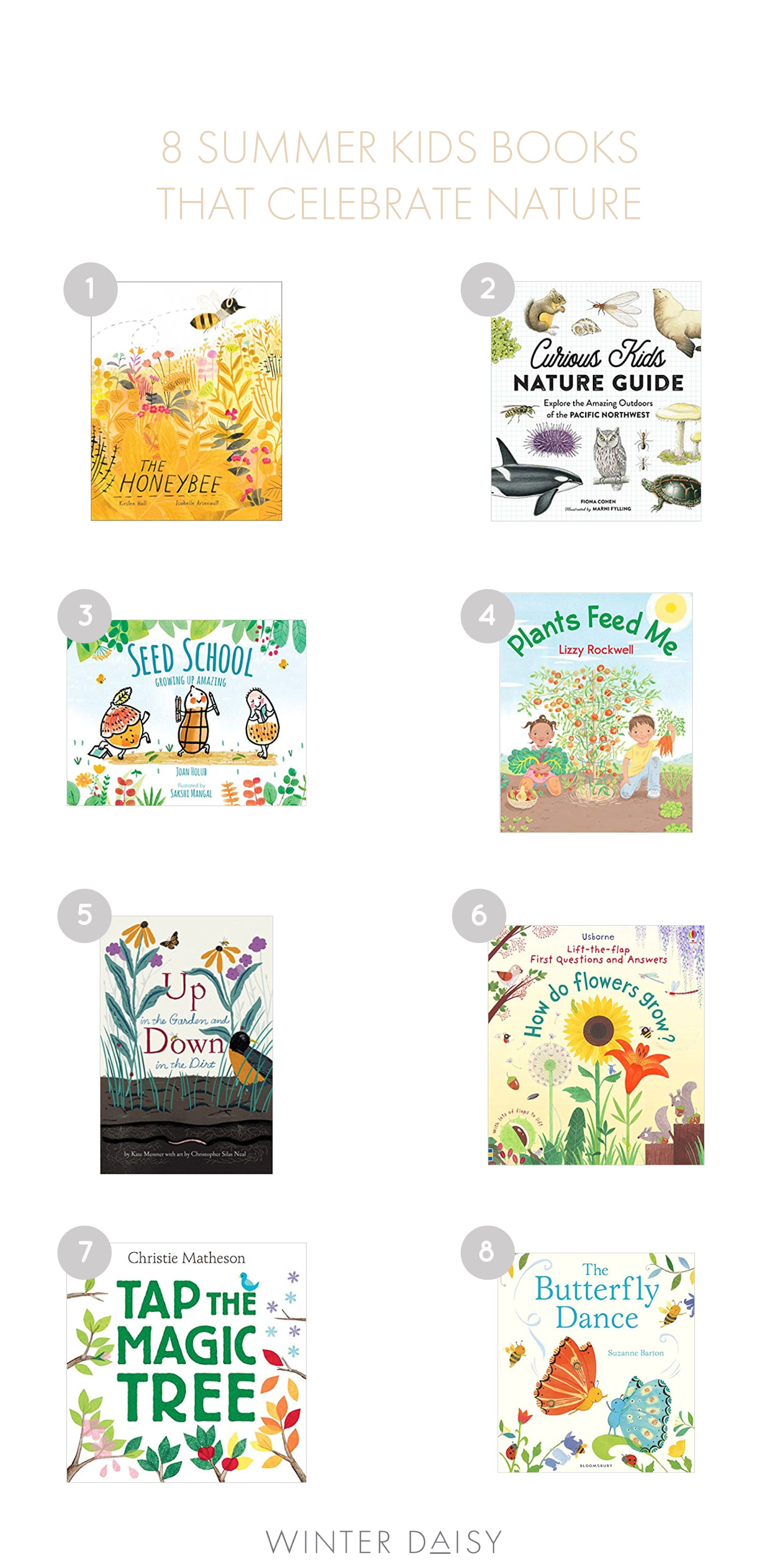 8 summer books for kids that inspire a love of nature