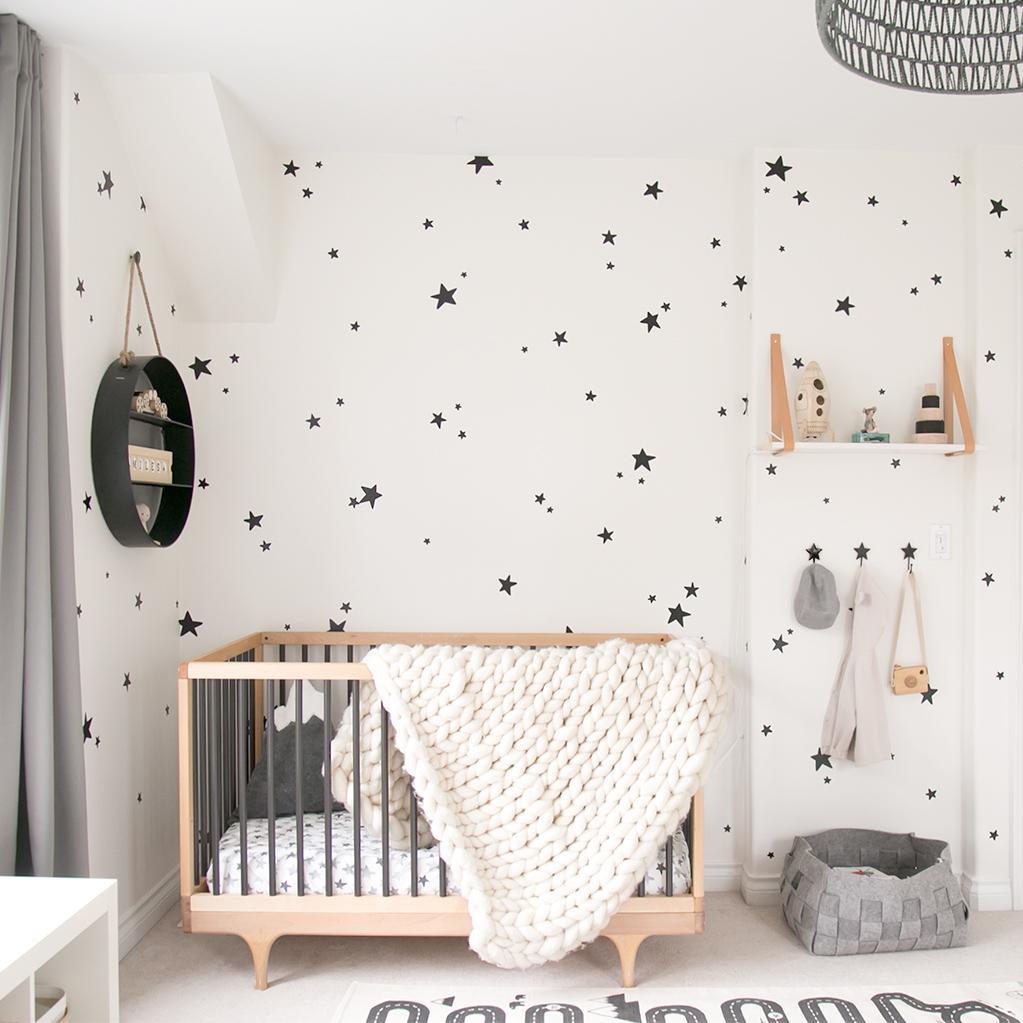 Baby Miles' nursery with Kalon crib