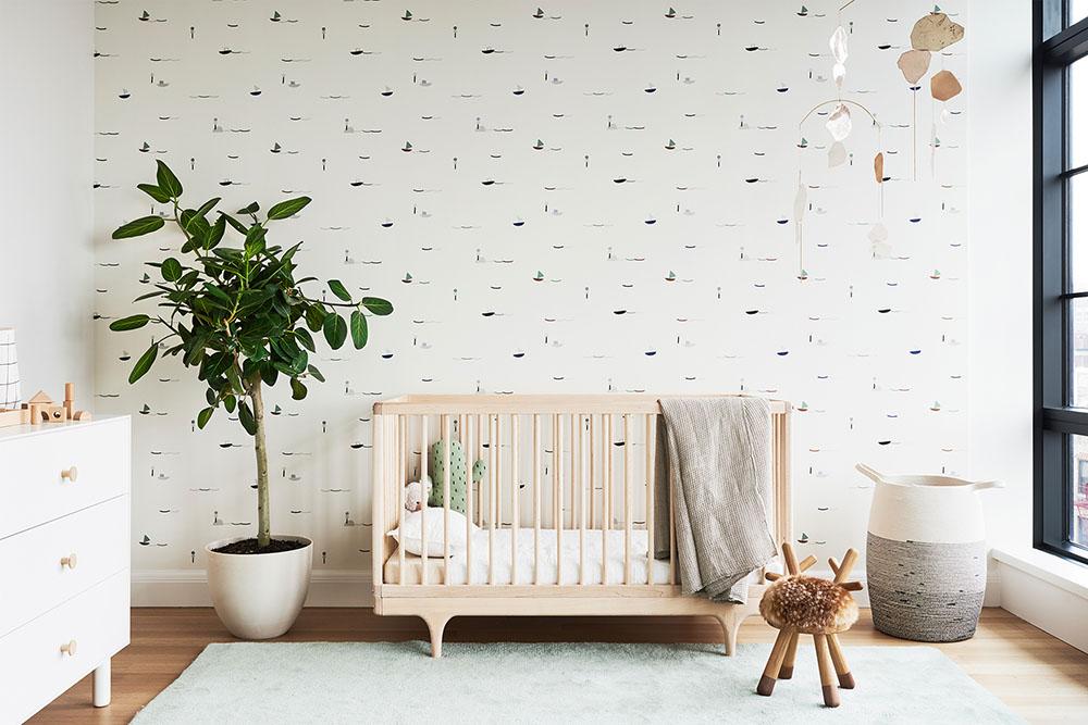baby nursery with kalon crib