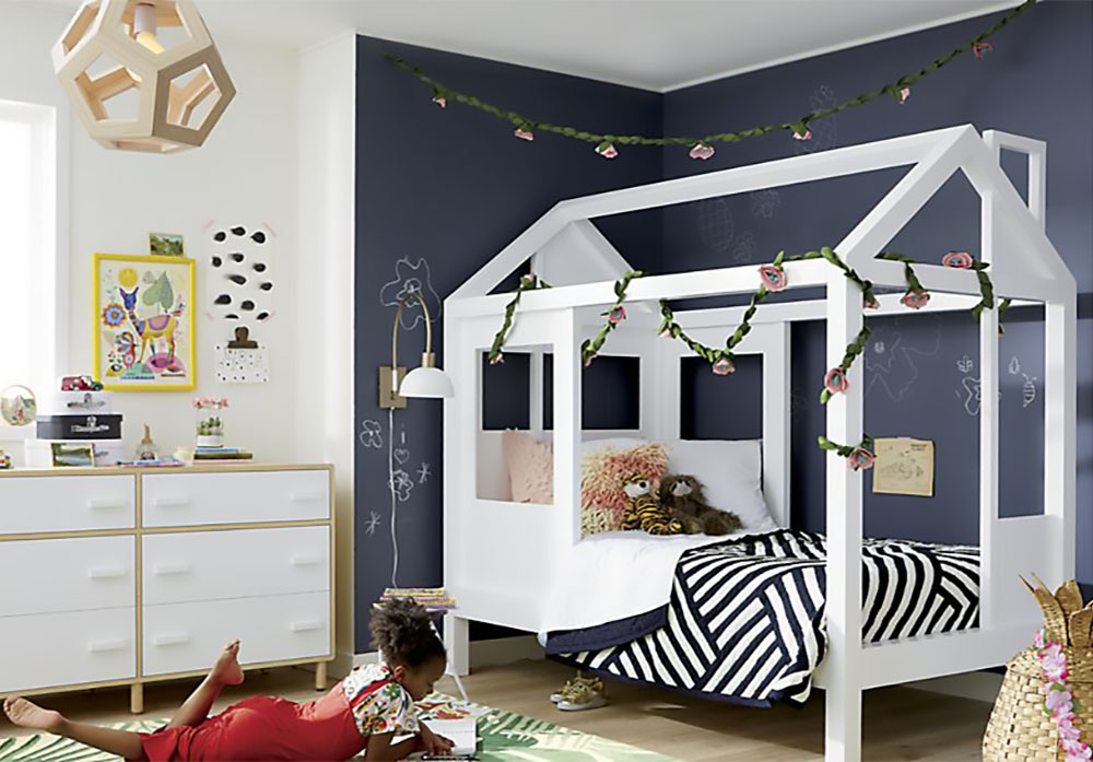 crate and kids house bed
