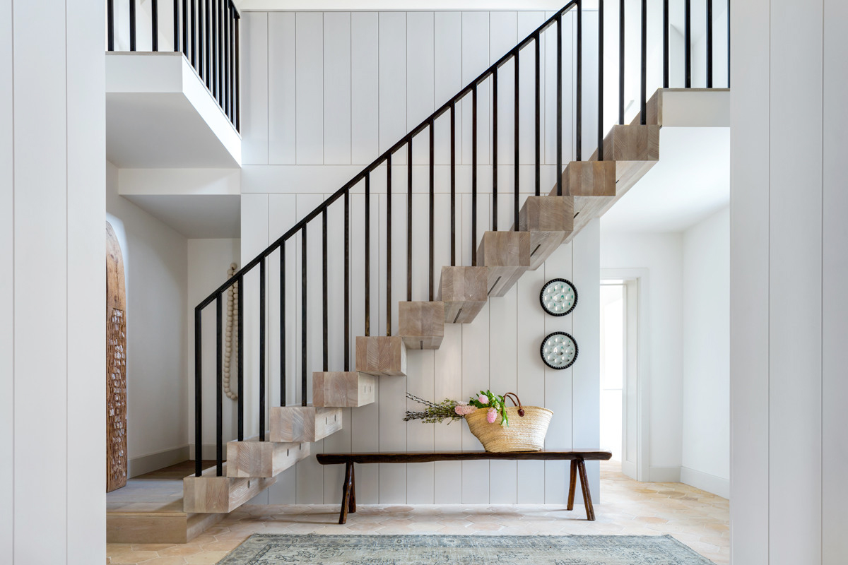 exposed staircase
