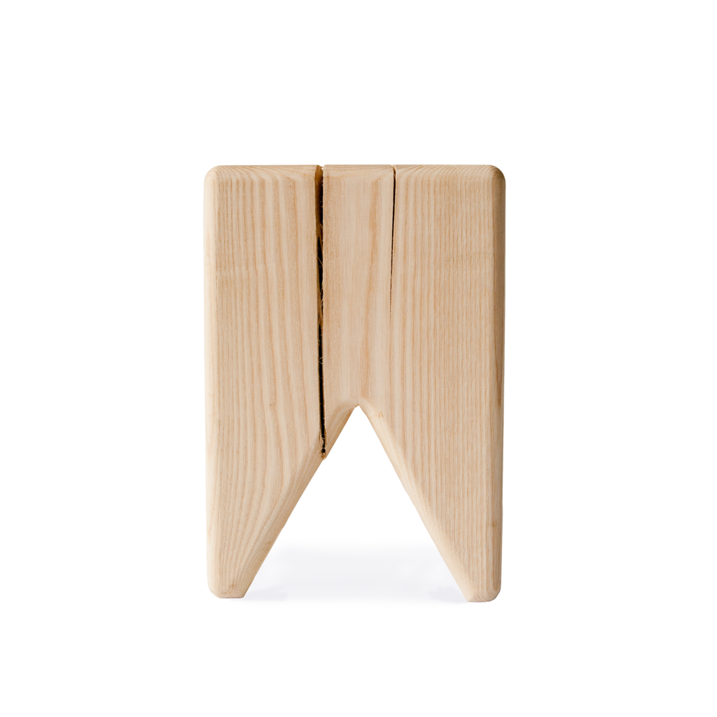 wood kids stool