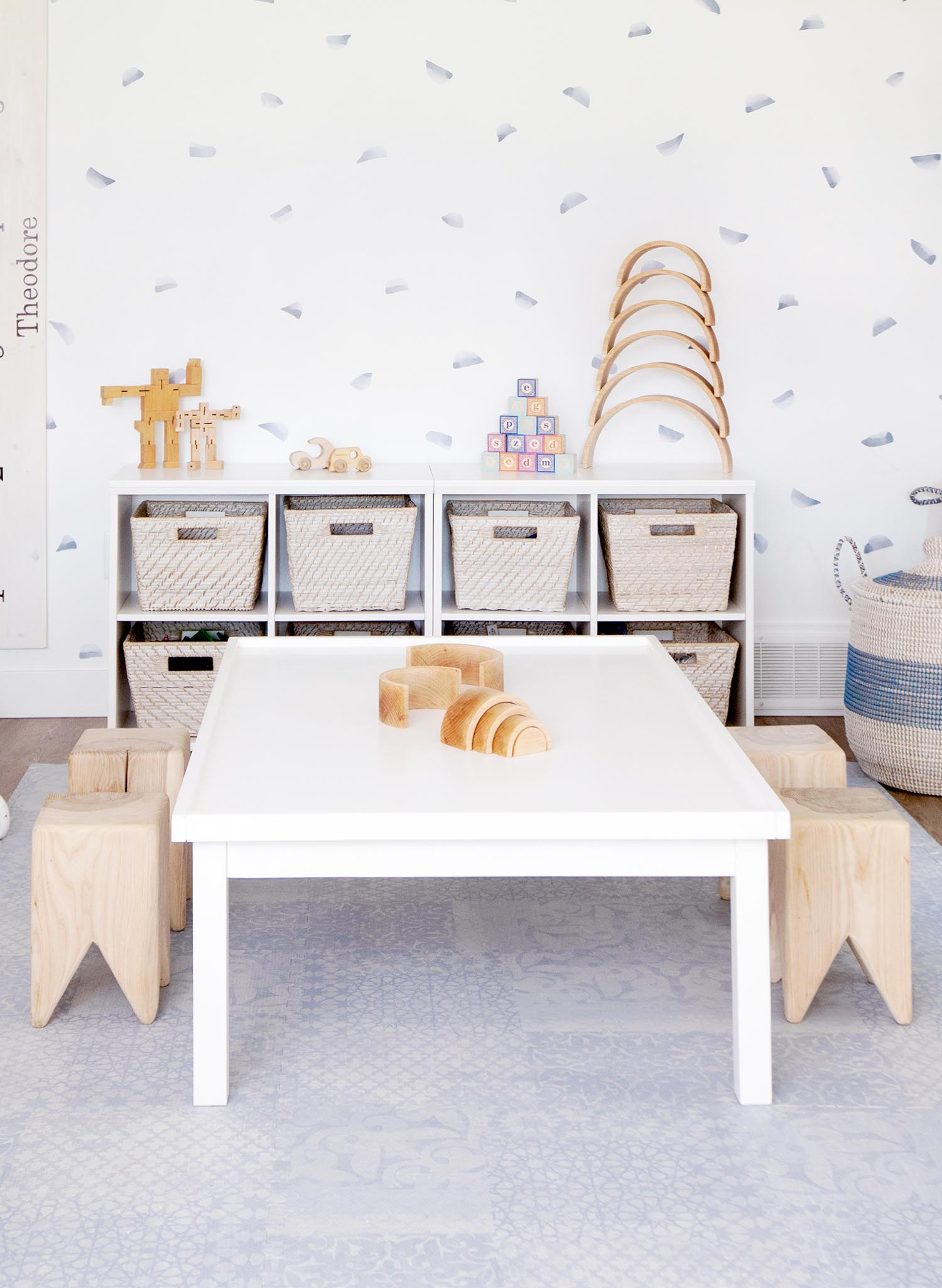 kids playroom storage