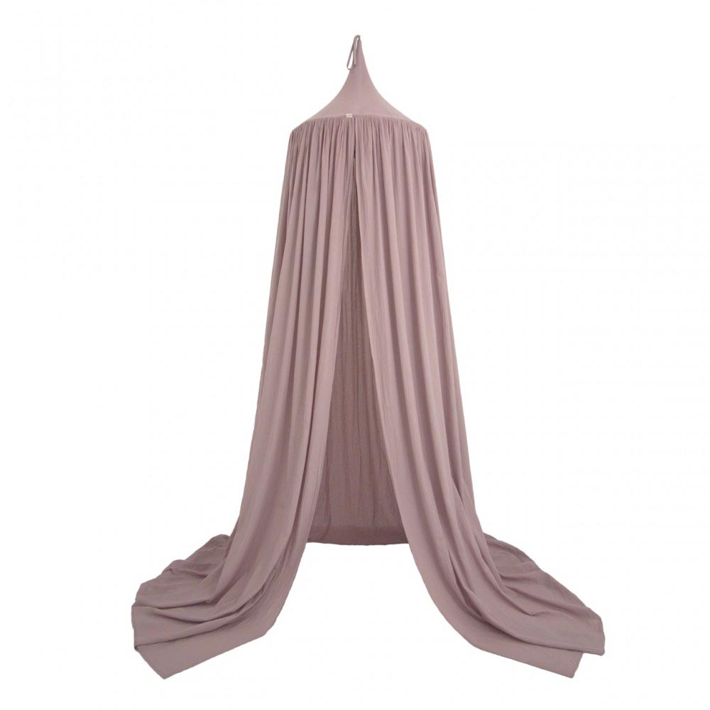 dusty pink canopy