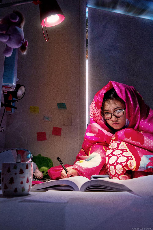 Study kid