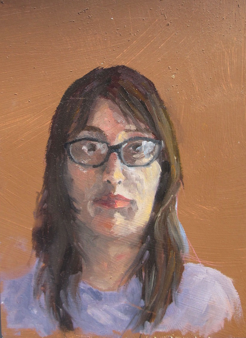 Self portrait, 3 hours.