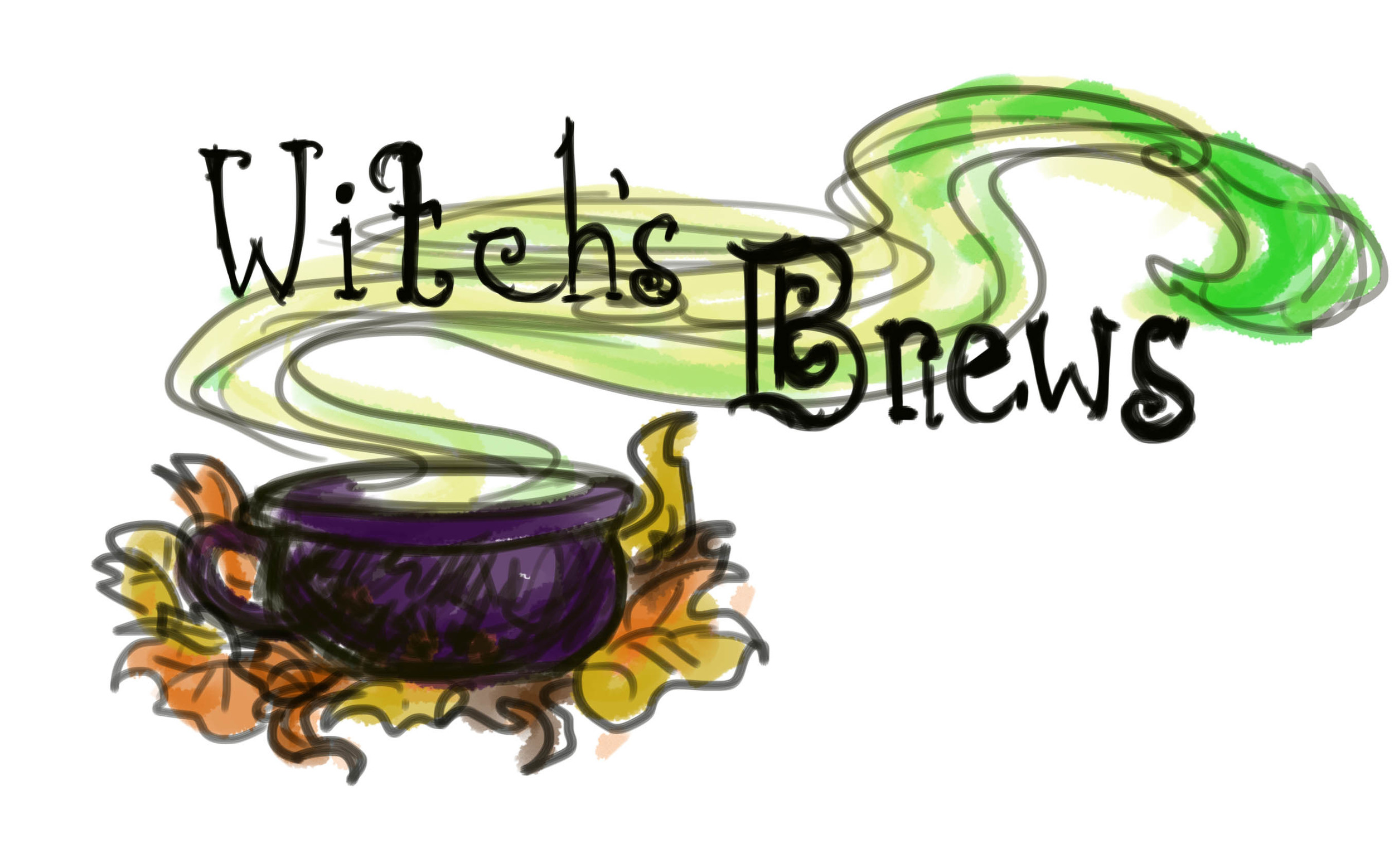 Logo idea for Witch's Brews