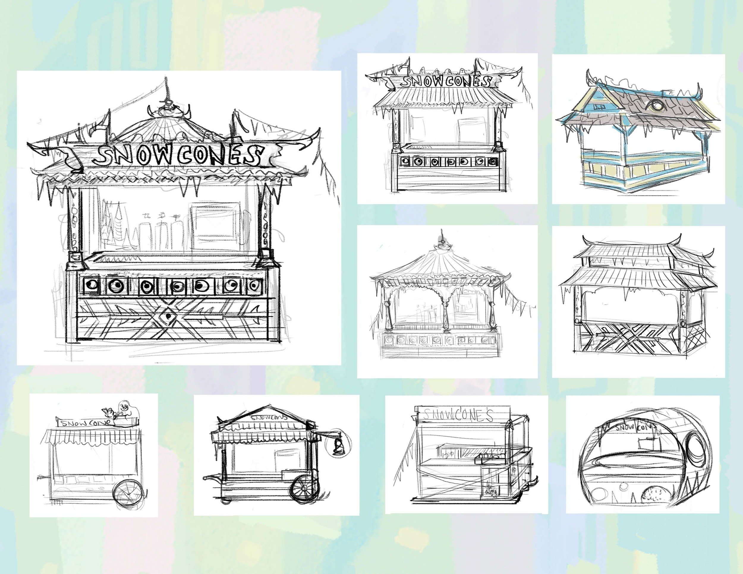 Copy of Snow cone kiosk designs