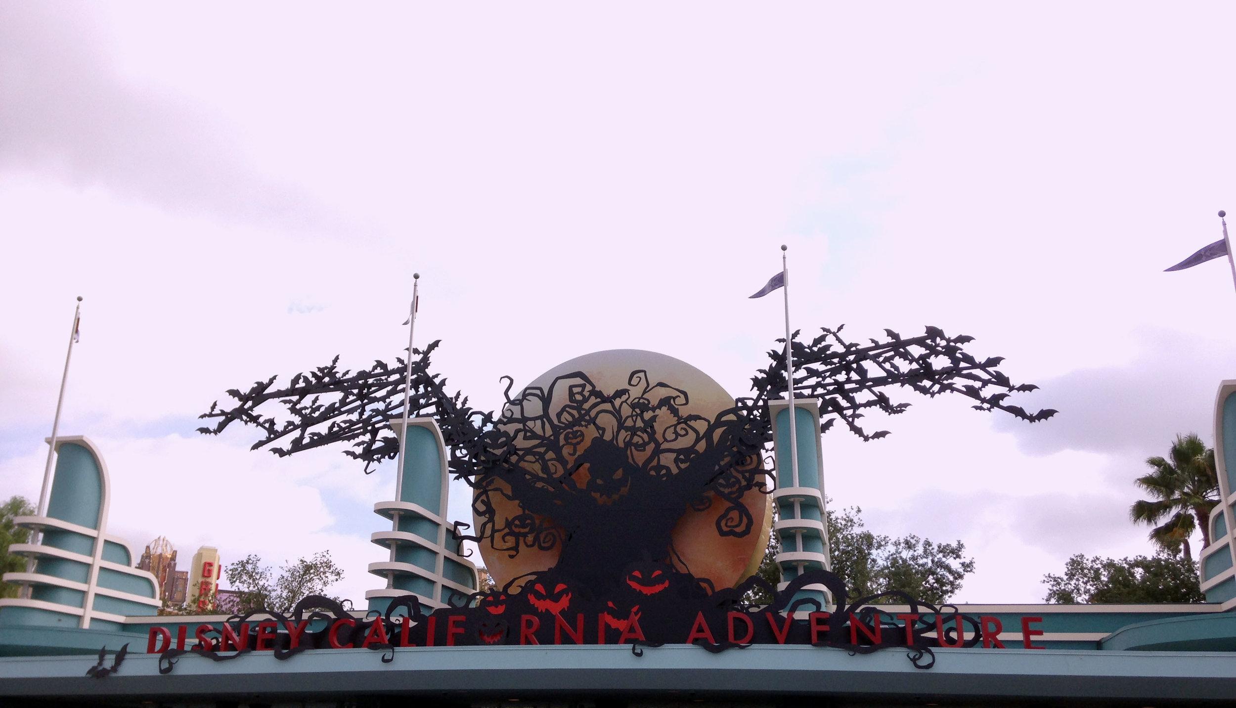 Oogie Boogie Halloween Turnstiles, Disney California Adventure