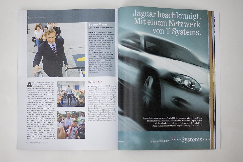 Fotoredaktion . Manager Magazin