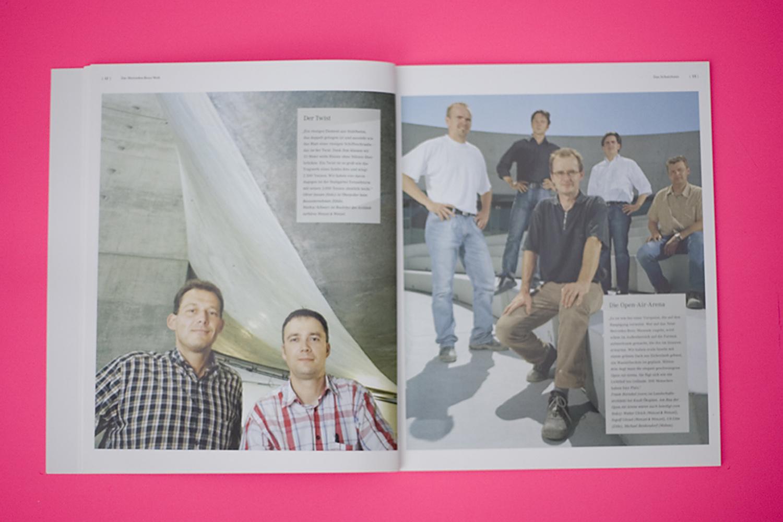 Corporate Publishing . Mercedes Benz Welt