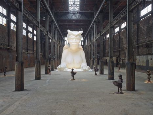 Kara Walker,  A Subtlety  (image:  Jason Wyche, Courtesy Creative Time, 2014)