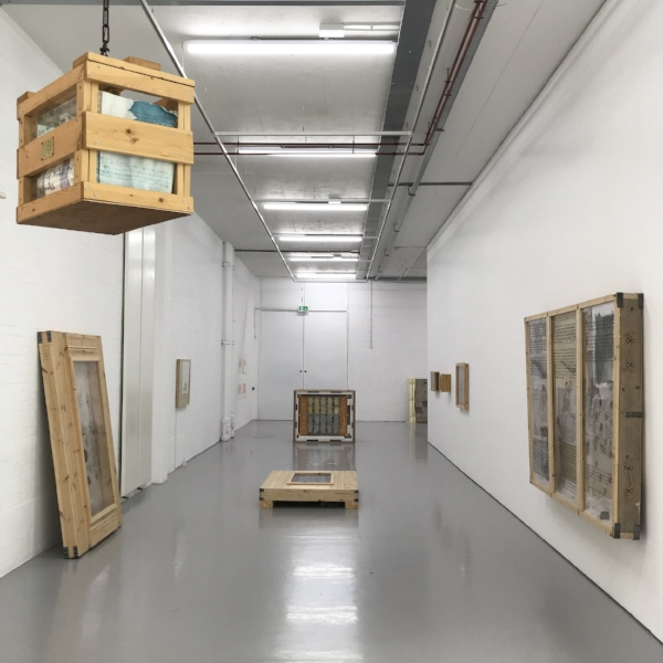 I Believe My Works Are Still Valid . Installation view (2017). Spike Island, Bristol, UK. 30 September to 17 December 2017.