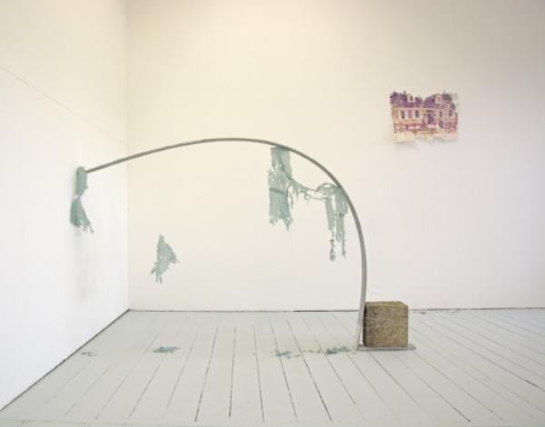 Studio 1  assessment installation. Bath Spa School of Art and Design MFA. ©2018 Kelly M. O'Brien