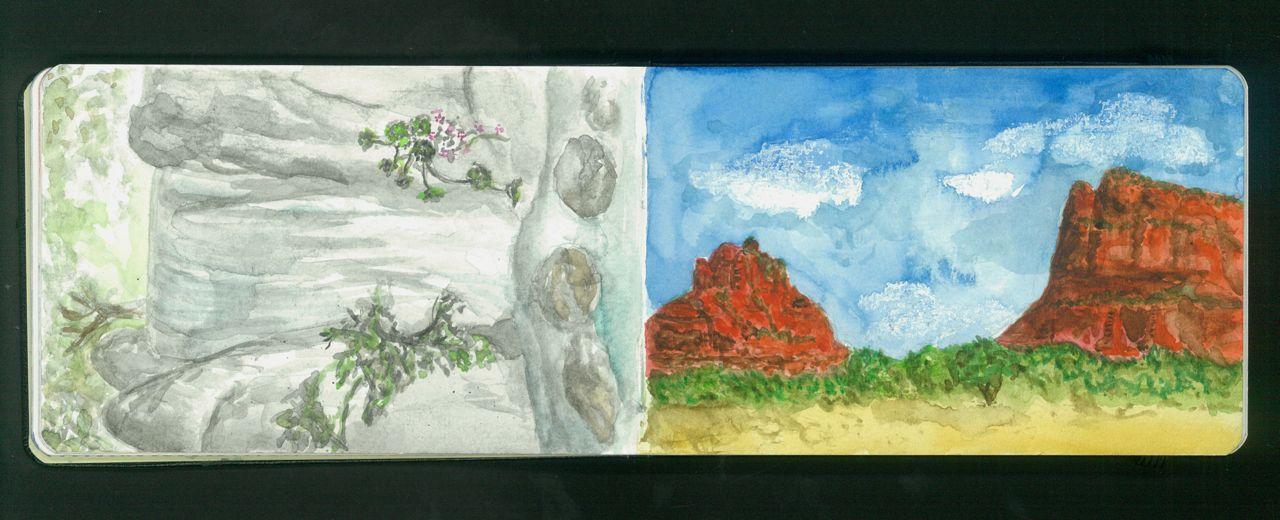 strawberry hill, golden gate park  red rock, arizona