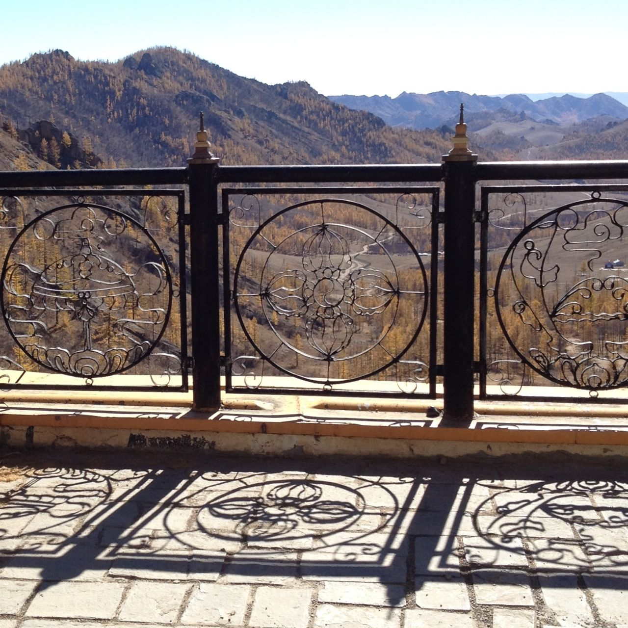 elephant buddhist temple . terelj . mongolia 02.10.13