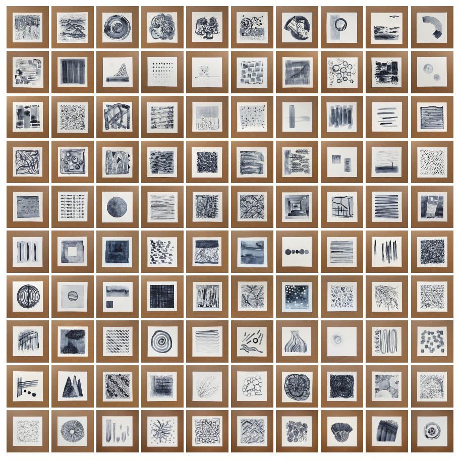 100 days of payne's grey