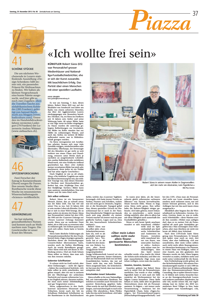 LuzernerZeitung_29_November_2015_Piazza
