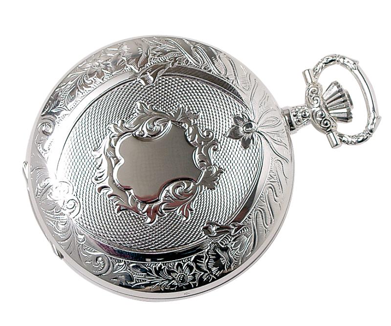 Lommeur, sølv