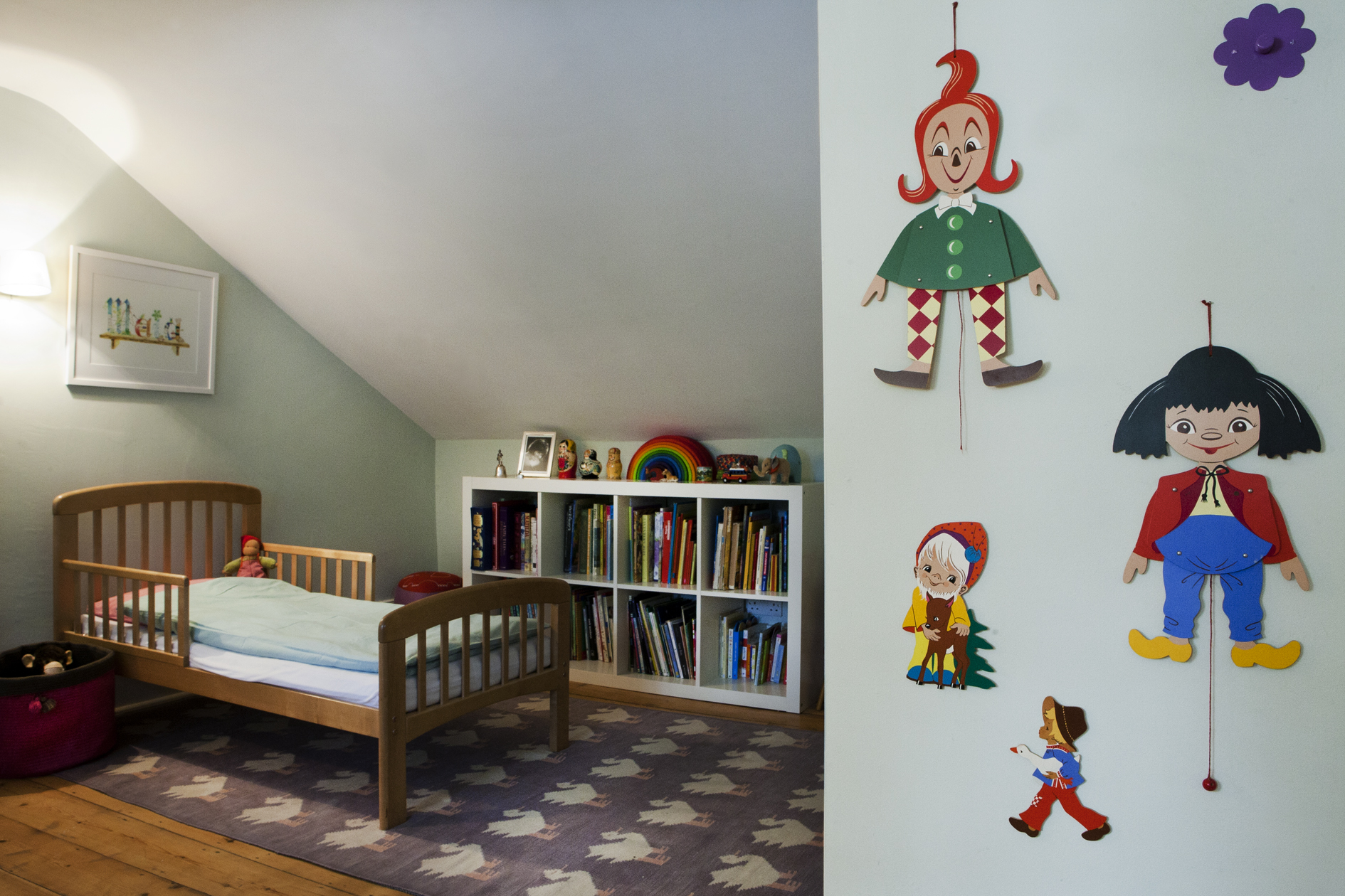 A lively children's room