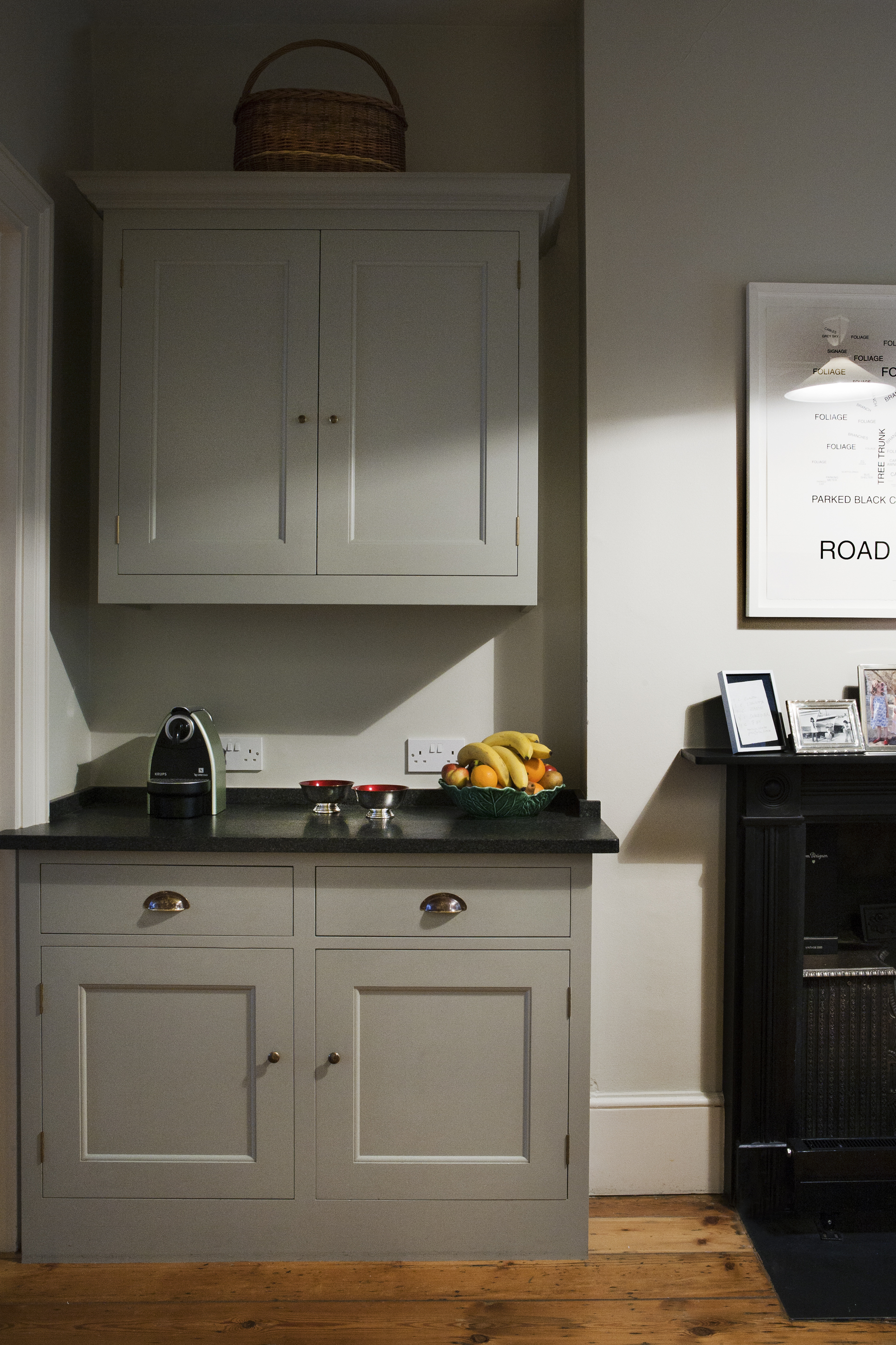 Kitchen cabinetry in a Georgian property