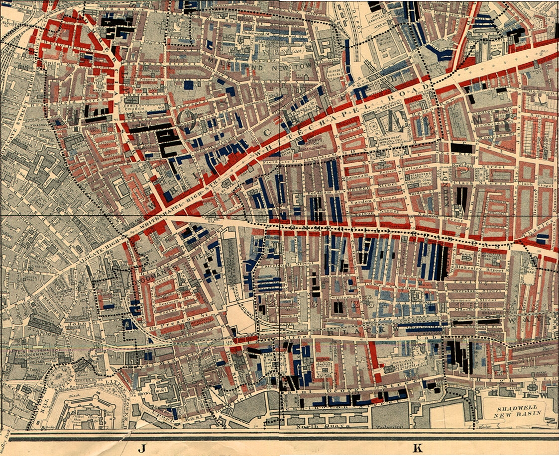 Charles Booth's 1898-99 London Poverty Map
