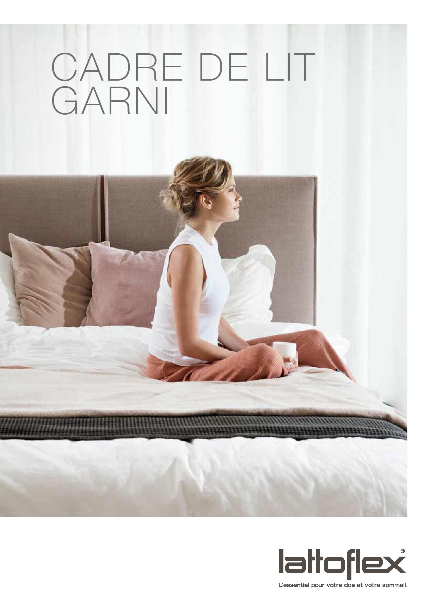 Brochure Lattoflex Cadre de lit