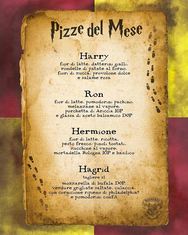 """""""Giuro solennemente di non avere buone intenzioni"""". Ecco a voi le pizze del mese di Giugno. Vi aspettiamo ⚡️🤓"""