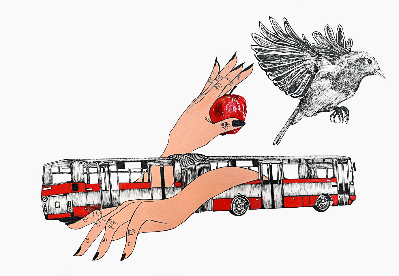 'Stronger' by Ali tareen. bus, prague. 72.jpg
