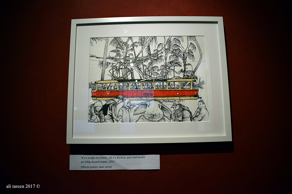 photo of exhibiton ali- tareen czech tram.jpg