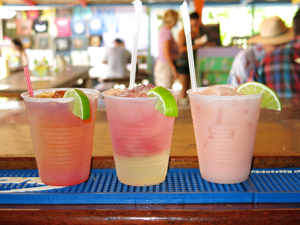 Cool off with a refreshing libation!