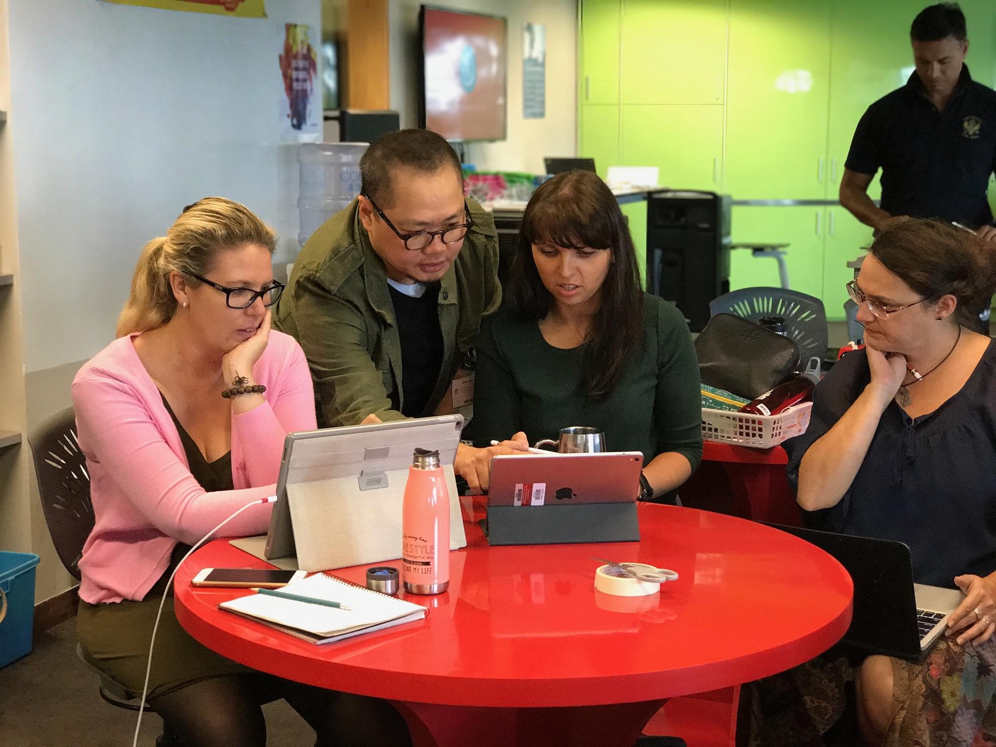 iPad Creative Workshops in schools