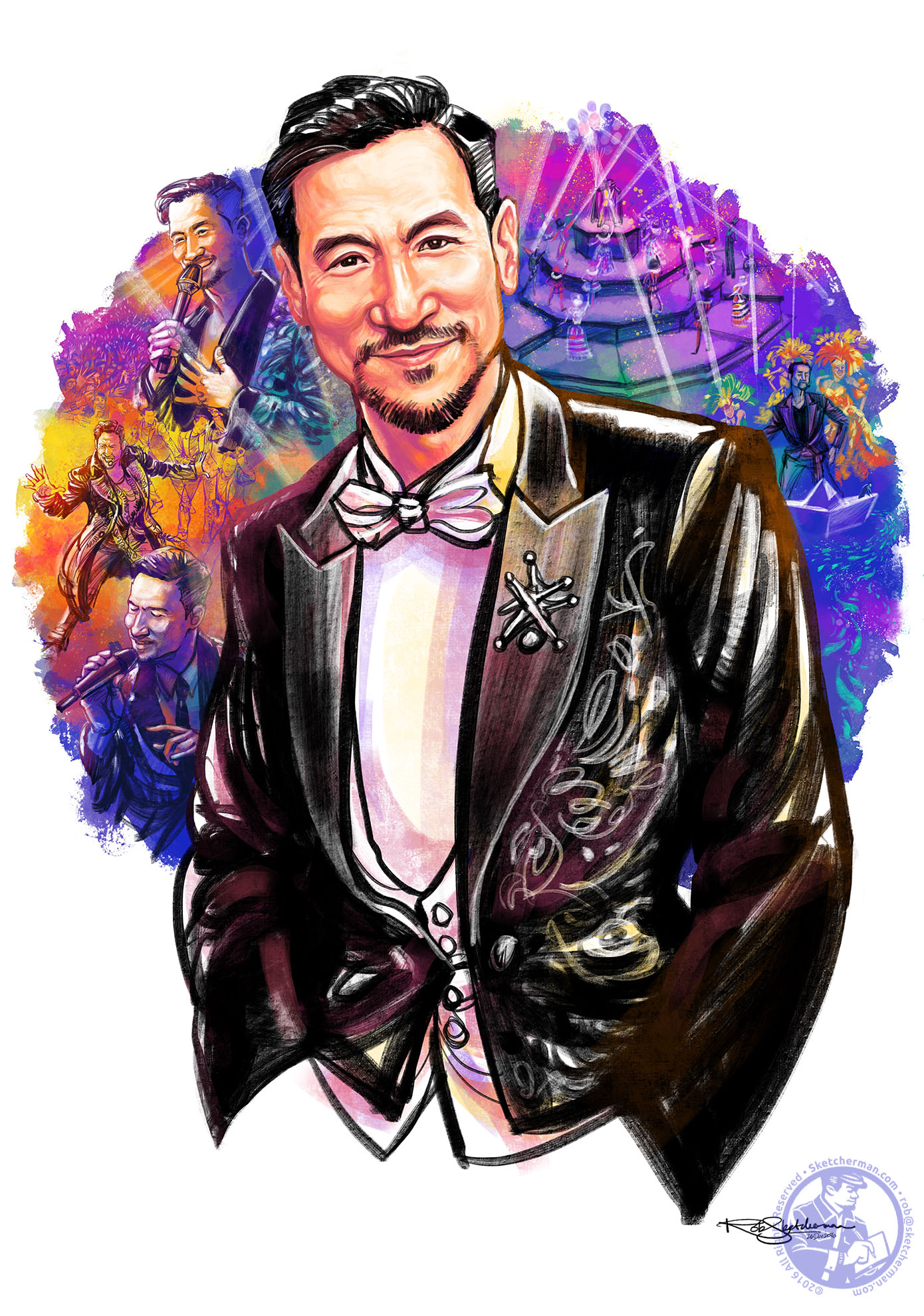 At 55, Jacky Cheung is a consummate performer who is older, wiser, more suave,  way  fitter and with a voice that is far more mesmerizing than men half his age could ever hope for.