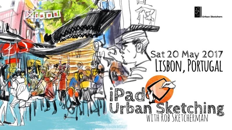 2017 Lisbon-iPad Urban Sketching-Sketcherman.jpg
