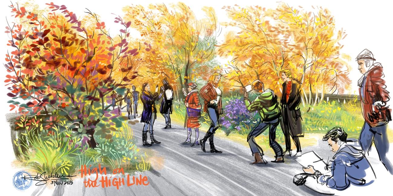 2018-NYC-19-High Line_Sketcherman.jpg