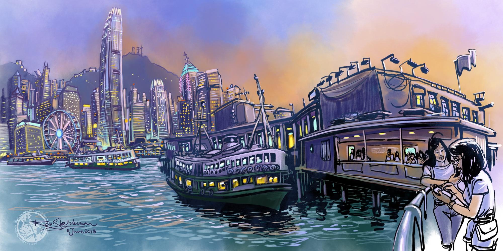 Star_Ferry-City_Lights-Sketcherman.jpg
