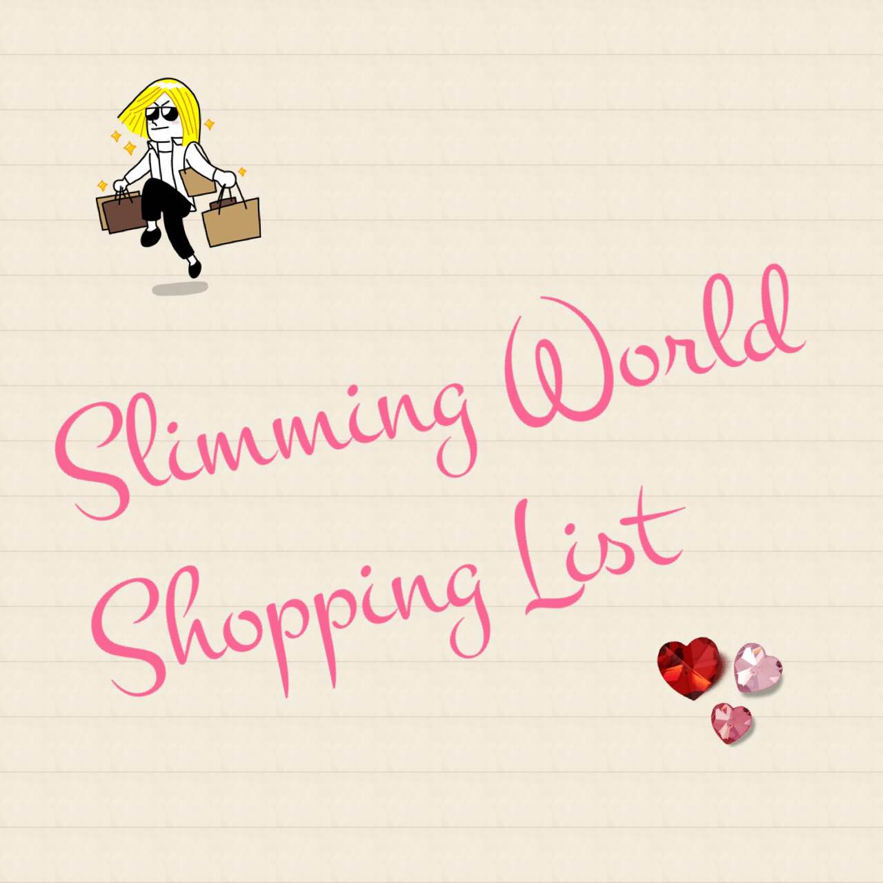 The ultimate, printable generic slimming world shopping list